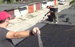 Гидроизоляция крыши гаража материалы