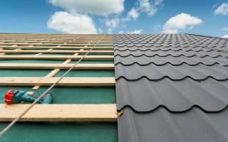 Гидроизоляция на крышу под металлочерепицу