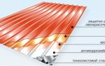 Звукоизоляция крыши из профнастила
