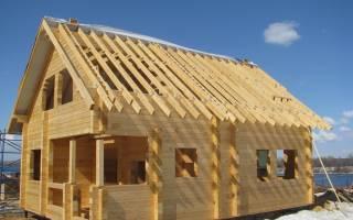 Как построить небольшой дом из бруса?
