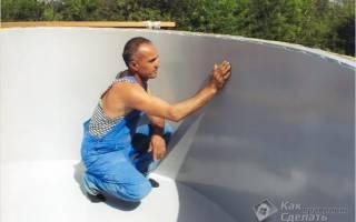 Гидроизоляция бассейна изнутри своими руками