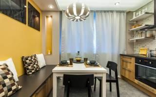 Современный дизайн интерьера кухни на 11 кв.м