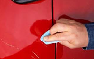 Как избавиться от глубокой царапины на кузове автомобиля?