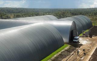 Как построить овощехранилище на 100 тонн?