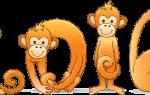 Забавная обезьянка из болтов с гайками