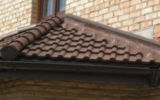 Гидроизоляция примыкания крыши к стене
