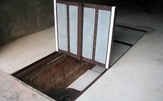 Как построить овощную яму?