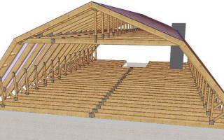 Как построить мансардную крышу своими руками?
