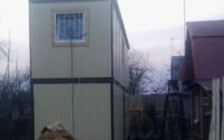 Как построить дом из вагончиков?