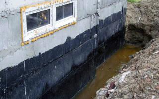 Гидроизоляция цокольного этажа при строительстве