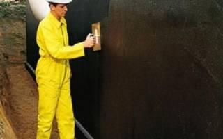 Оклеечная гидроизоляция из битумных рулонных материалов