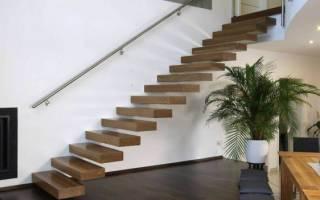 Консольная лестница своими руками