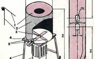 Барабанная терка с электроприводом своими руками
