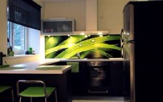 Как прикрепить фартук на кухне из пластика своими руками