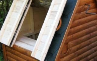 Как построить домик для колодца?