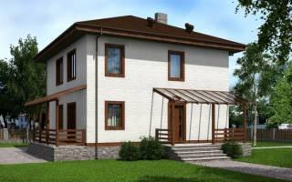 Проект двухэтажных домов 10х10 с отличной планировкой