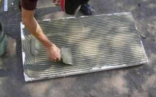Чем приклеить пенополистирол к бетону?