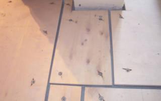 Укладка плитки на деревянный пол: советы с фото и видео