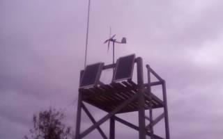 Большой пропеллер для ветрогенератора из пластиковой трубы