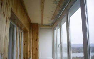Гидроизоляция потолка балкона изнутри