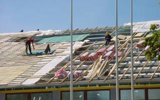 Звукоизоляция крыши из металлочерепицы
