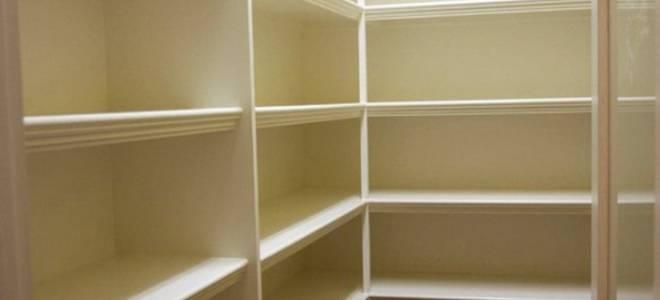 Как построить кладовку в квартире?
