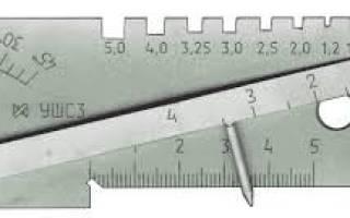 Шаблон для разметки труб из сварочных электродов
