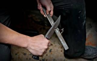 Оригинальный нож из обычной инструментальной стали
