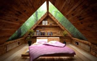 Как построить мансарду в деревянном доме?