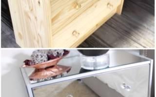Как простой комод из IKEA превратился в уникальную мебель
