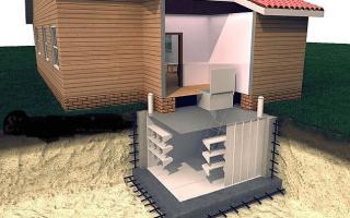 Как сделать подвал холодным под домом?