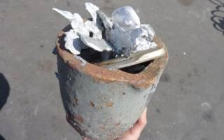 Бюджетный вариант получения алюминия в домашних условиях