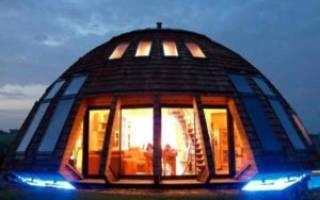 Как построить купольный дом своими руками?