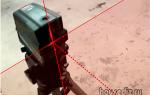Лазерный мини уровень для столярных и слесарных работ