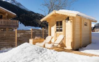 Как построить маленькую баньку на даче своими руками?