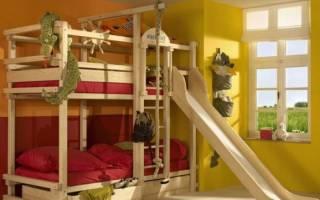 Как построить двухъярусную кровать?