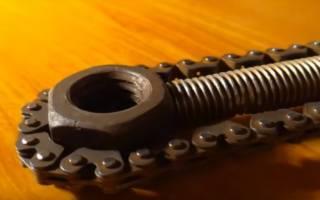 Ещё один универсальный ключ из велосипедной цепи