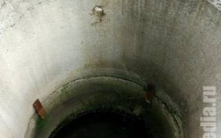Гидроизоляция канализационного колодца из бетонных колец