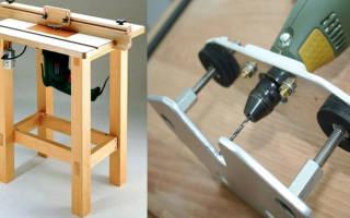 Как быстро сделать из дрели ручной фрезер