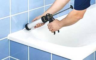 Гидроизоляция ванны от стены