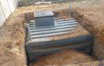 Как построить погреб своими руками при грунтовых водах?