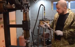 Кузнечный мини электромолот из шуруповерта или дрели