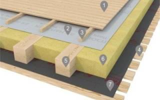 Гидроизоляция изоспан для пола в деревянном доме