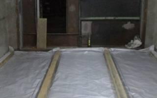 Гидроизоляция на пол в гараже
