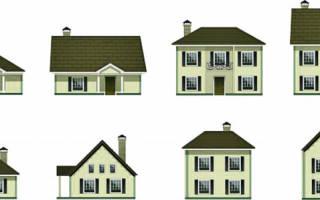 Как построить дом в огороде?