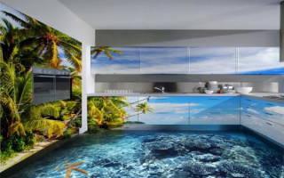 3D наливные полы своими руками