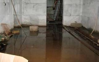 Вода в подвале гаража как устранить?