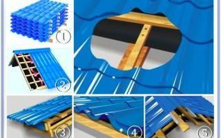 Инструкция по монтажу обрешетки под металлочерепицу