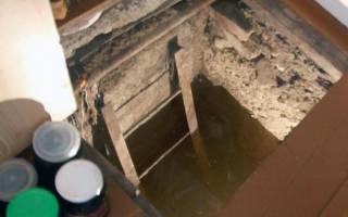 Как высушить подвал в гараже?