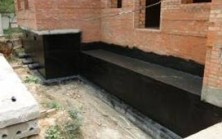 Холодная гидроизоляция для фундамента